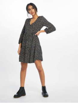 New Look Kleid Print TBC V/NK Smock schwarz