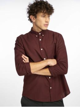New Look Koszule Longsleeve New Oxford czerwony