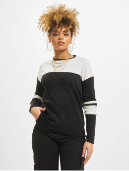 New Look Longsleeve Interlock zwart