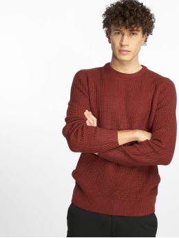 New Look Maglia Tuck Stitch rosso