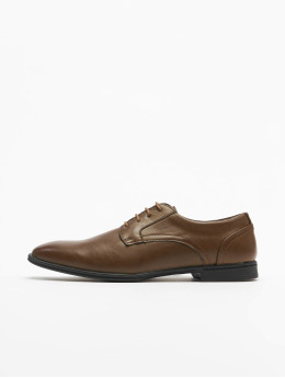 New Look Nauhakengät Stevie Plain Formal ruskea