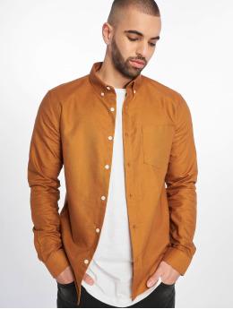 New Look overhemd New Oxford  bruin