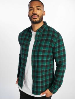 New Look overhemd Longsleeve Mini Buff Epp Check groen