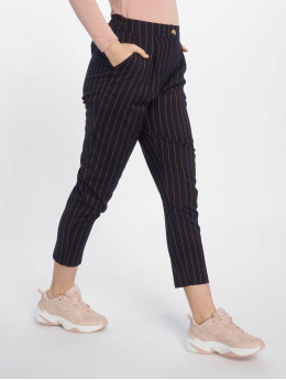 New Look | ST Pinstripe Pull On bleu Femme Pantalon chino