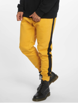 New Look Pantalón deportivo Side Stripe naranja