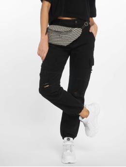 New Look Pantalone Cargo Malibu Ex Rip nero