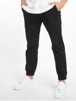 New Look Pantalone Cargo Half Elasticated  nero