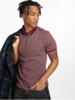 New Look Poloshirt AOP Jacq rot