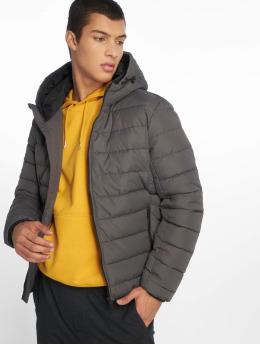 New Look Männer Puffer Jacket Entry in grau