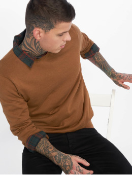 New Look Männer Pullover Upspec Crew in beige