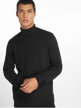 New Look Pullover Racking Stitch blau