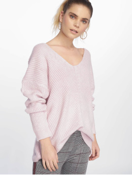 New Look Pullover OP Lattice rosa
