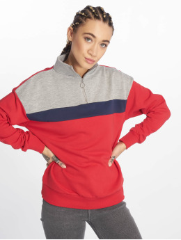 New Look Pullover WOW Colourblock rot