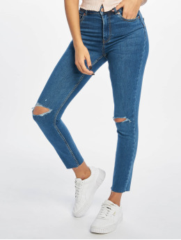 New Look Skinny Jeans Lift&Shape Ripped blå