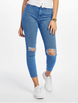 New Look Skinny jeans Rip Hallie Disco blauw