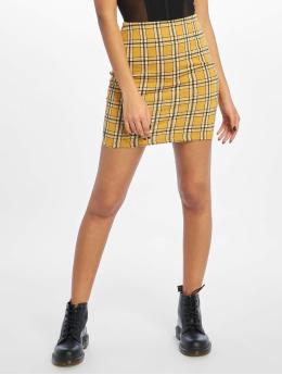 New Look Skjørt Monica Mustard Tube gul