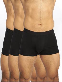 New Look Spodní prádlo 3PK Trunks čern