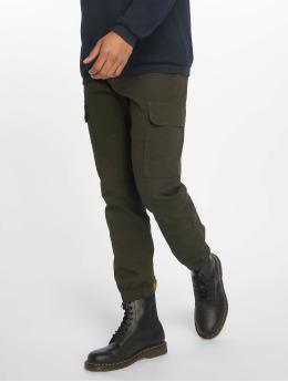 New Look Spodnie Chino/Cargo Half Elasticated khaki
