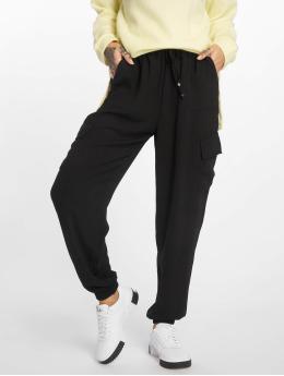 New Look Spodnie do joggingu JE Utility Cuffed czarny