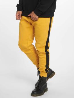 New Look Spodnie do joggingu Side Stripe pomaranczowy