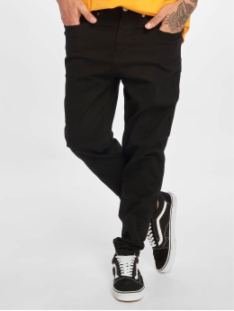 New Look Straight Fit Jeans Black schwarz