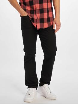 New Look Straight Fit Jeans Black  svart