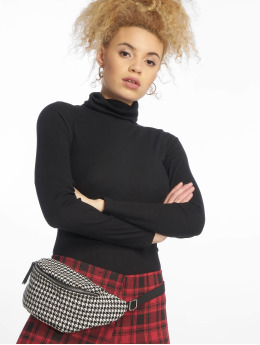 New Look Sweat & Pull D Rib Roll Neck noir