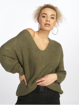 New Look Sweat & Pull OP Lattice olive