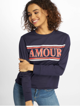 New Look T-Shirt manches longues Amour bleu