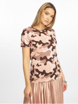 New Look T-Shirt Camo rosa