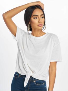 New Look T-skjorter Pl Tie Front hvit
