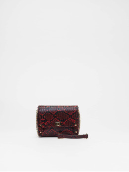New Look Frauen Tasche Sierra Snake Xbody in rot