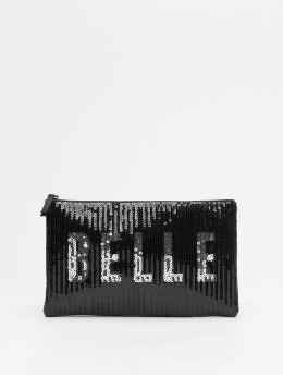 New Look Väska  Belle Sequin svart