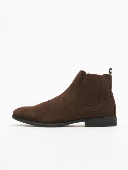 New Look Vapaa-ajan kengät Rossi SDT Chelsea ruskea