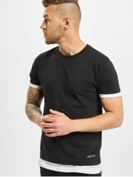 New York Style T-Shirty Layers  czarny