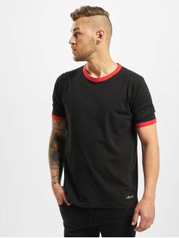 New York Style T-Shirty Contrast  czarny
