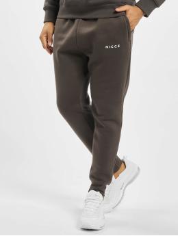 Nicce Jogging kalhoty Original Logo šedá