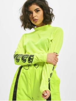 Nicce | Logo  jaune Femme T-Shirt manches longues