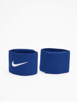 Nike Équipement Football Stay II Shin bleu
