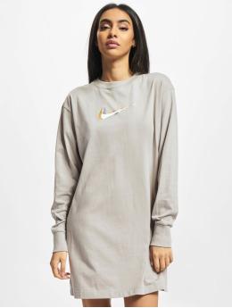 Nike Šaty NSW  šedá