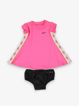 Nike Šaty Rainbow Taping  pink