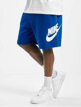 Nike Šortky HE FT Alumni  modrý