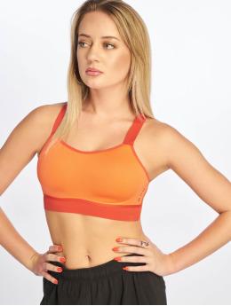 Nike Športová podprsenka Breathe oranžová