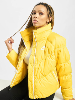 Nike Демисезонная куртка Down Fill желтый