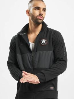 Nike Демисезонная куртка F.C черный