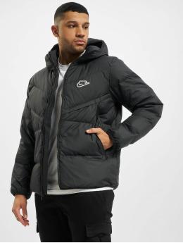 Nike Демисезонная куртка Down Fill Windrunner черный