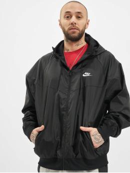 Nike Демисезонная куртка M Nsw Spe Wvn Hd  черный