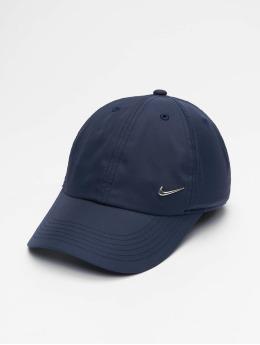Nike Кепка с застёжкой Metal Swoosh Fitted синий