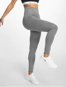 Nike Леггинсы  All-In серый