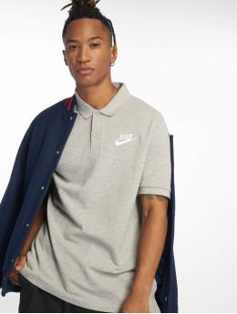 Nike Майка поло Men's Sportswear Polo серый